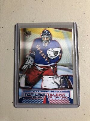 2018-19 Upper Deck UD Tim Hortons Hockey Top Line Talent TLT-11 Henrik Lundqvist