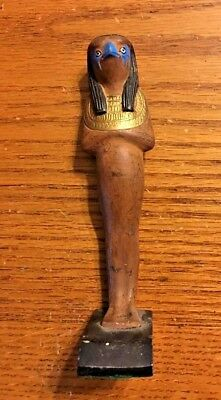 Ancient Egyptian Reproduction Horus The Falcon Statue Sculpture