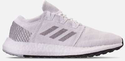 913c305f4ec86 New ADIDAS PUREBOOST GO WOMENS RUNNING SHOES SNEAKERS WHITE GREY 8 - 11