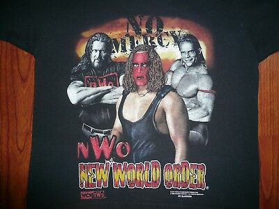 Vintage NWO T Shirt YOUTH SZ SMALL ( 8 ) WCW Sting Lex Luger Kevin Nash