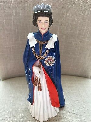 Royal Doulton Her Majesty Queen Elizabeth II Figurine 2878 Limited Edition