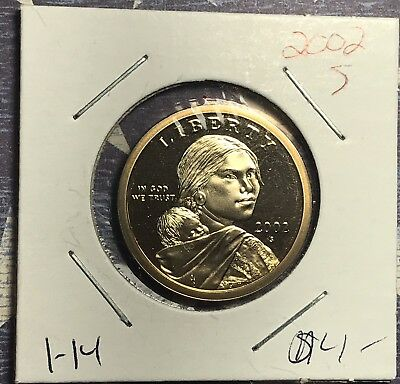 2002-S Sacagawea / Native American Dollar Proof. Collector Coin For Set.