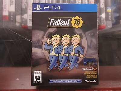 Fallout 76 SteelBook Edition W/ Controller Skin PlayStation 4 Game PS4 Exlclusiv