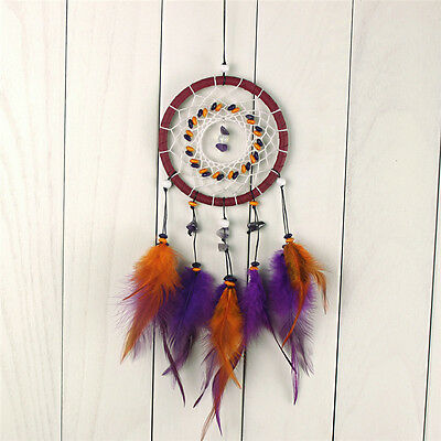 Fashion Indian Feathers Dream Catcher Hanging Wall Home Ornament Gifts Handmade