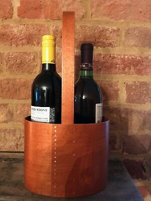 Frye's Measure Mill Oval Shaker Wine Carrier With Handle