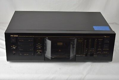 Nakamichi RX-202 Audio Tape Player Cassette Deck for Parts/Repair