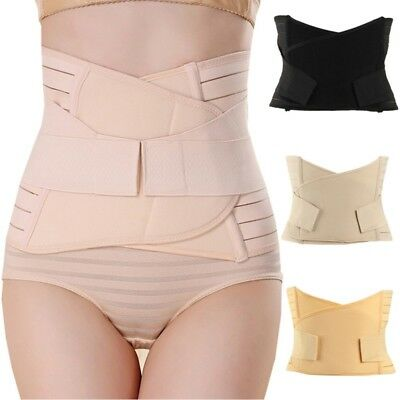 Postpartum Corset Recovery Belly Waist Tummy Belt Shaper Body Support Bands US