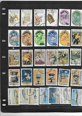 Grenada.  Selection Of 31. Cancelled To Order. .  As Per Scan