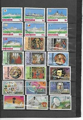 Grenada. 1973-1976.  Selection Of 21.  Cancelled To Order. .  As Per Scan