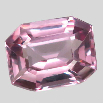 1.74ct.Perfect Cut & Luster! 100%Natural Silver Pink Spinel Unheated Gem AAA Nr.