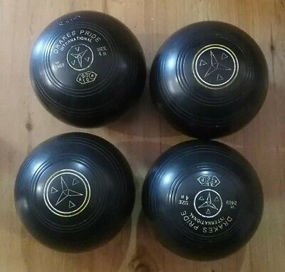 Drakes Pride International  Lawn Bowls Size 4H
