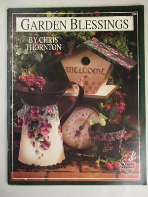 Garden Blessings Tole Folk Art Decorative Painting Patterns Vegetables Thornton