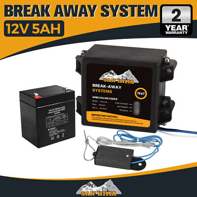 【20%OFF】Break Away System with Battery& Switch Trailer Float Boat Electric