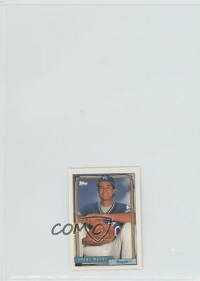 1992 Topps Micro Box Set Base #183 Brent Mayne Kansas City Royals Baseball Card