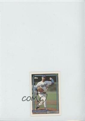 1992 Topps Micro Box Set Base #363 John Candelaria Los Angeles Dodgers Card