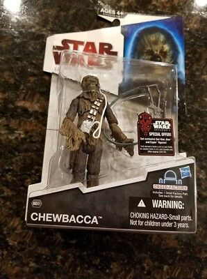 2009 Star Wars LEGACY Collection ROTJ BD31 CHEWBACCA Build Droid Factory Figure!