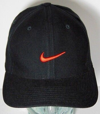 Size S m Black With Red Nike Swoosh Nike Dri Fit Classic 99 Stretch Fit 94dbc850a5e7