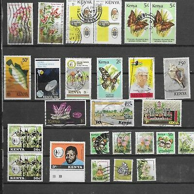 Kenya. 1980 On. Selection Of 26. Mixed Condition.  As Per Scan