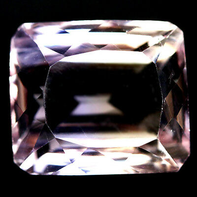 7.66 CT VVS NATURAL PURPLE & YELLOW BOLIVIA AMETRINE OCTAGON 10 X 11 mm.