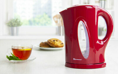 WHITE Signature 2200W 1.7L Cordless Kettle Coffee Tea Rapid Boil with Filter