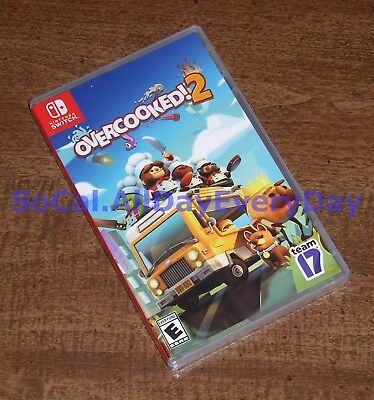 Overcooked! 2 (Nintendo Switch) *********BRAND NEW & FACTORY SEALED********* nsw