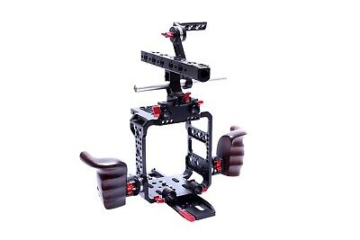 Camgear Rig for Red Raven/Weapon/Scarlet W Cage Baseplate Handle EVF Dovetail