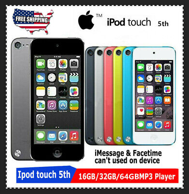 New! Apple iPod Touch 5th Generation 16GB/32GB/64GB Dual Cameras-(Latest Model)
