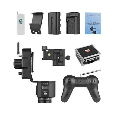 ZIFON YT-3000 50m Remote Control Electronic Pan Tilt Head Motorized Panoram N4V6
