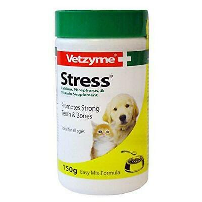 Vetzyme Stress Powder for Dogs and Cats, 150 g