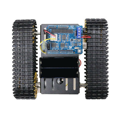 T101 Acrylic Bluetooth Metal Robot Tank Car Chassis Kit Motor For Arduino