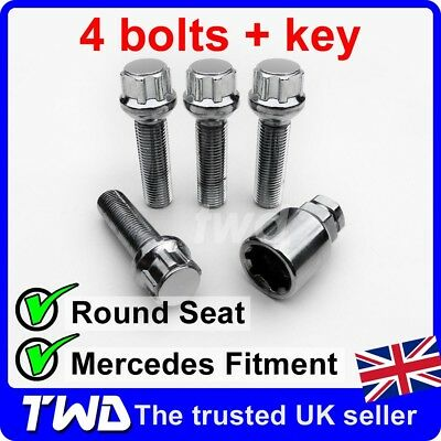 09-16 McGard Locking Wheel Bolts 14x1.5 Nuts for Merc E-Class Coupe A207//C207