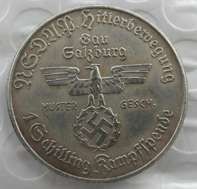 MAGNIFICENT German coin 35 mm
