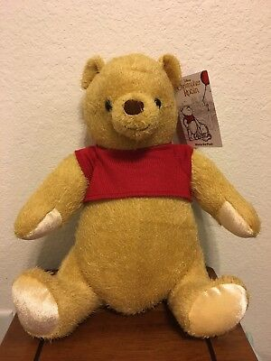 "Disney Parks Christopher Robin Movie Winnie The Pooh Movie 17"" Jointed Plush!"