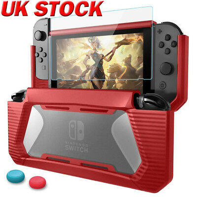For Nintendo Switch Case Cover Shockproof Protective Shell + Screen Protector