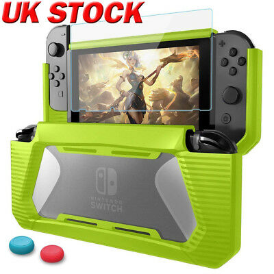 UK For Nintendo Switch Case Cover Shockproof Protective Shell + Screen Protector