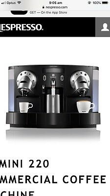 Nespresso Commercial Coffee Machine
