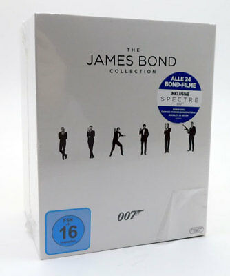 BluRay The James Bond 007 Collection Alle 24 Filme inkl. Spectre NEU & OVP