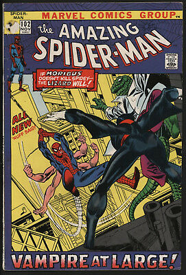 Amazing Spider-Man 102. Vs Morbius & The Lizard.