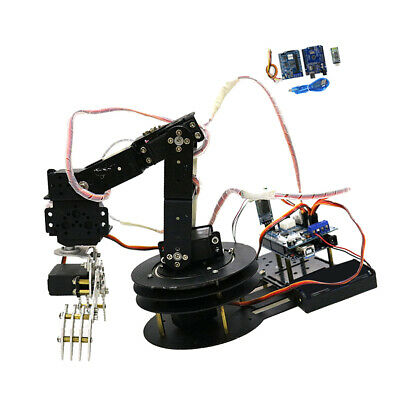 5 DOF Metal Robot Robotic Mechanical Clamp Claw Arm Kit Servo For Arduino