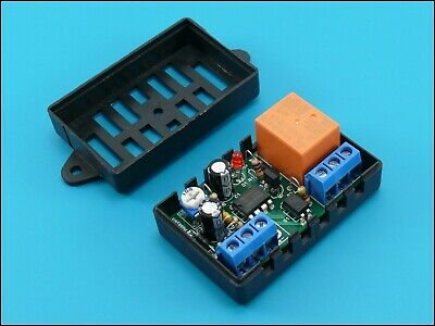 Positive pulse activate Timer switch relay 1 to 50 sec Delay OFF 12V 10A Car