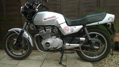 1984 Classic Suzuki Gs400E Twin Cylinder Motorcycle.classic Ins./vmcc Eligible