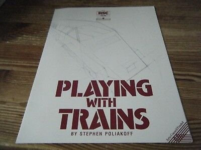 1989   Theatre  Programme    -  Playing Wth Trains -  Rsc  - The  Pit     Vgc