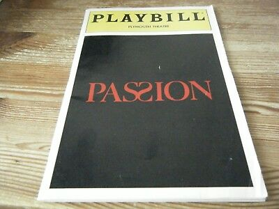 1994   Theatre  Programme    -  Passion -  Plymouth Theatre New York & Ticket