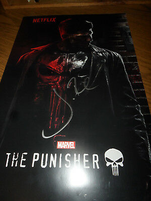 Jon Bernthal Signed/Autographed Marvel The Punisher 11X17 Poster Twd