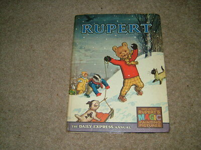 RUPERT ANNUAL 1967. [with Magic Painting Pages.]