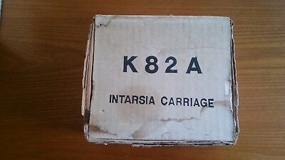 Toyota Intarsia Carriage Knitting Machine K82A In Box and K81 Plaiting Unit