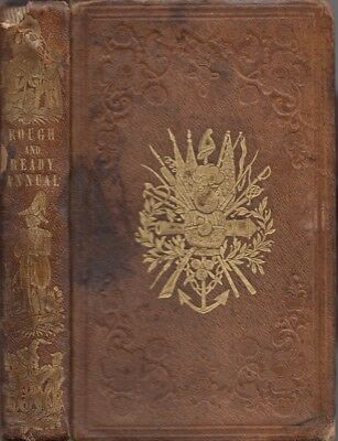 Publisher D. Appleton and Company / Rough and Ready Annual or Military 1st 1848