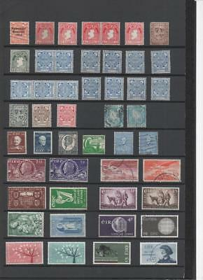 Ireland Collection Stamps/postcards On 11 Pages