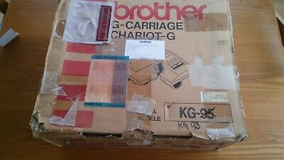 Brother G Carriage Garter Carriage KG93 In Box for Knitting Machine