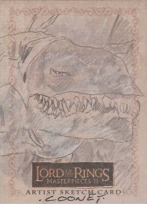 "Lord of the Rings Masterpieces II - Dan Cooney ""Fell Beast"" Sketch Card"